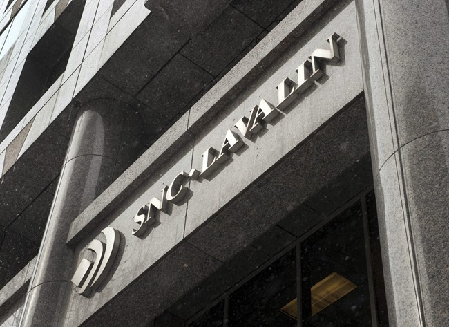 The head office of SNC-Lavalin ia seen Thursday, February 19, 2015 in Montreal.