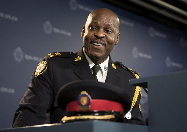 File photo of Toronto Police Chief Mark Saunders.