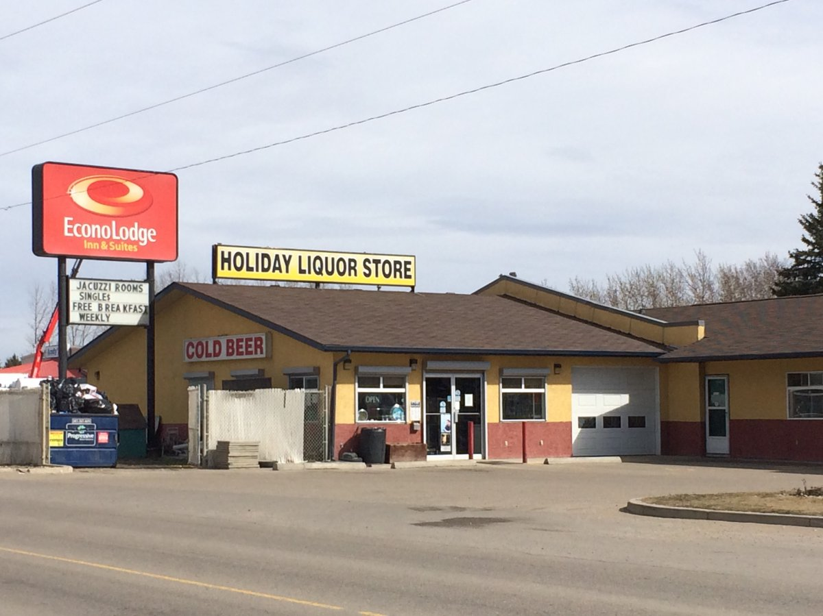 Police have charged a man and a woman with human trafficking, in connection with the alleged abuse of eight temporary foreign workers at an Econo Lodge on Gasoline Alley in Red Deer County. April 17, 2015.