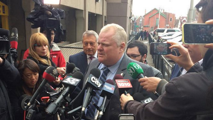 Alexander (Sandro) Lisi's lawyer tells Global News former Toronto mayor Rob Ford will not appear in court today to testify in a preliminary hearing.