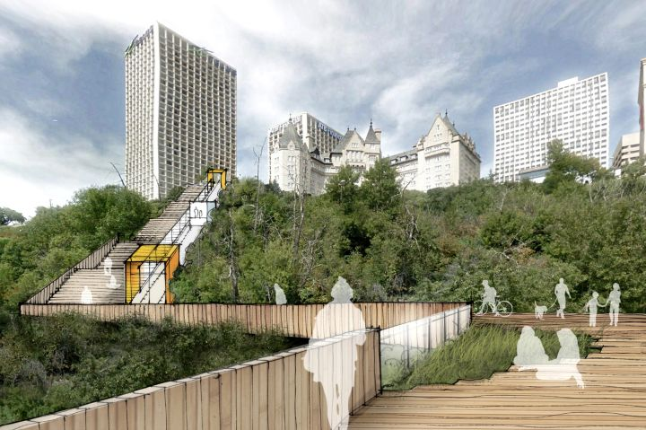 There will soon be a new way to access Edmonton's picturesque River Valley from the downtown core.