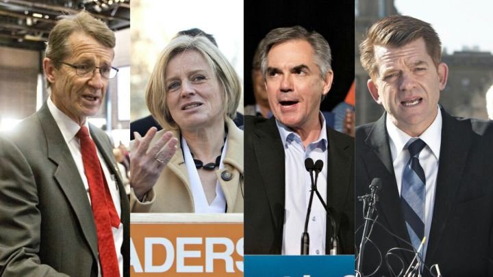 Alberta election leaders debate