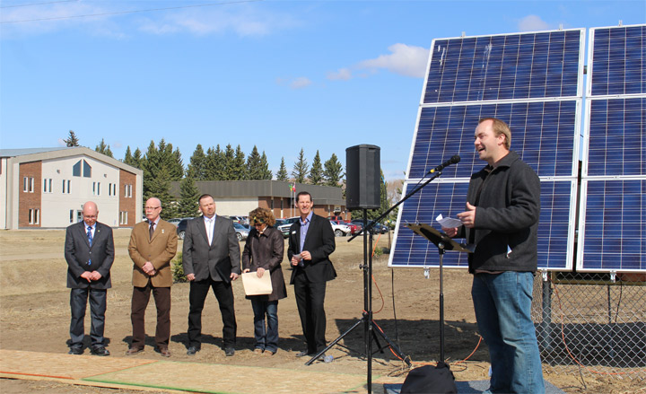 Nipawin Bible College expects its power bill will now be zero after the introduction of solar power on campus.