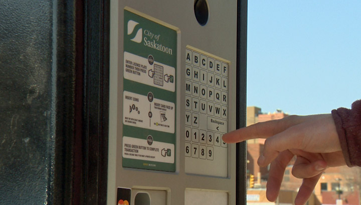 Provincial legislation doesn't allow parking tickets to be mailed for infractions at new Saskatoon pay stations.