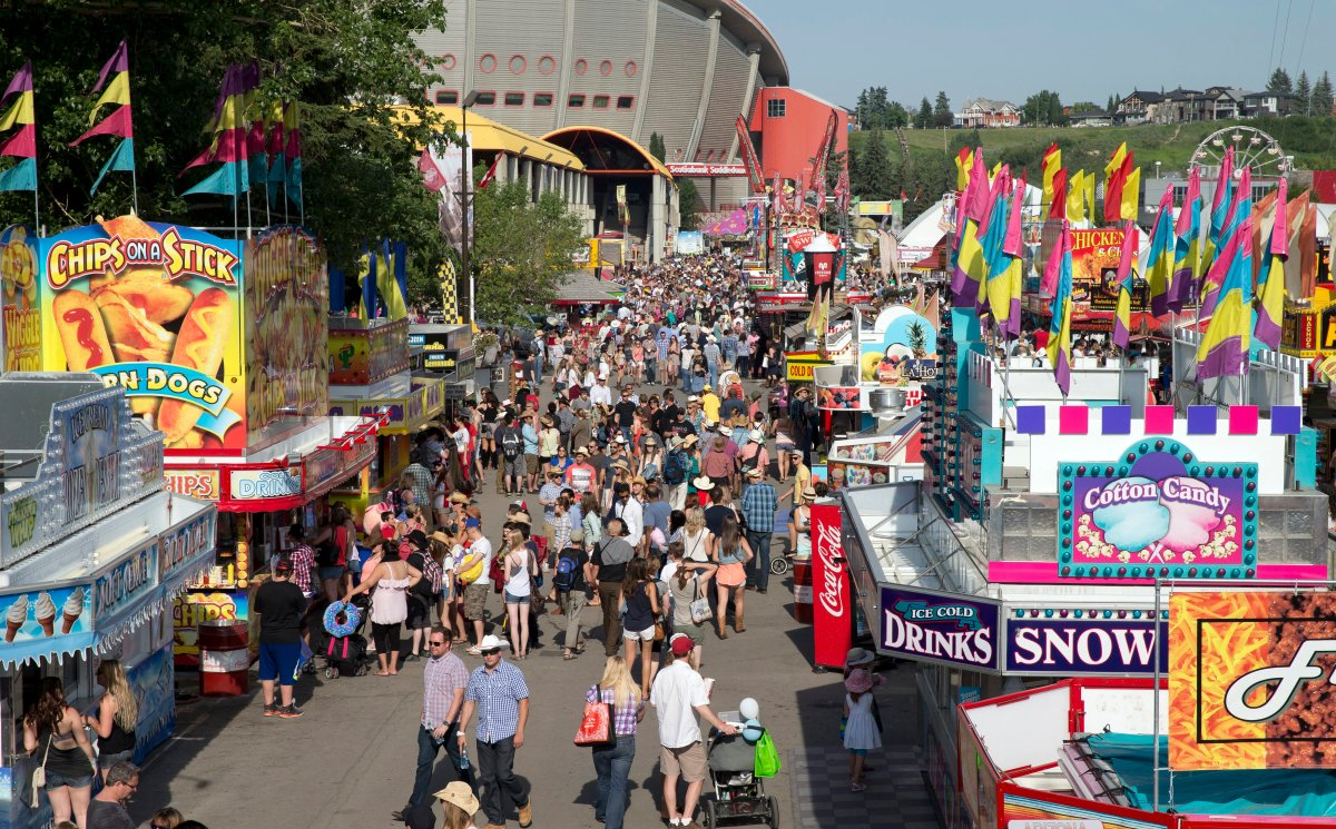 The Calgary Stampede grounds on July 5th, 2014.