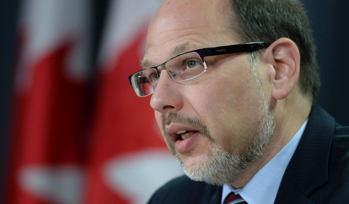 Howard Sapers, Correctional Investigator of Canada,  holds a news conference in Ottawa on Wednesday, October 8, 2014.