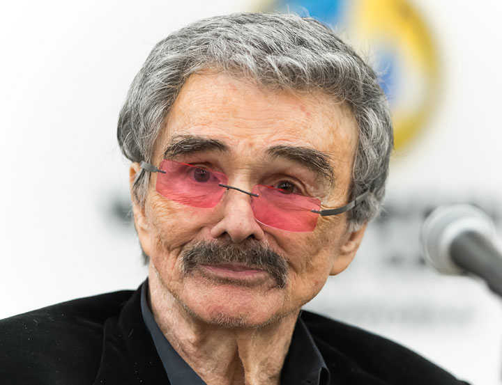 Burt Reynolds, pictured on May 9, 2015.