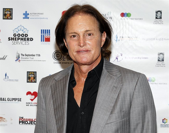 In this Sept. 11, 2013 file photo, former Olympic athlete Bruce Jenner arrives at a charity event in New York.