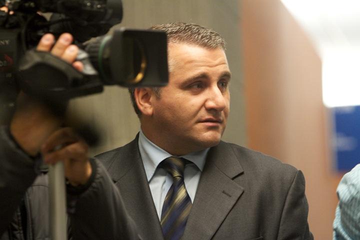 Global News reporter Domenic Fazioli.