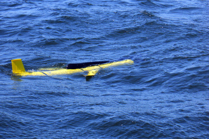 A two-metre long marine research glider is likely adrift at sea near Halifax, according to the Ocean Tracking Network.