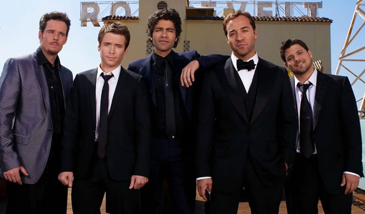 The stars of 'Entourage.'.