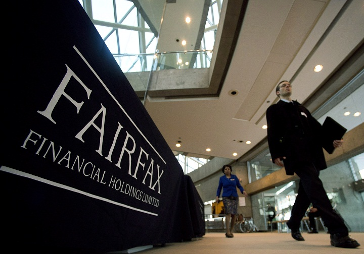 Fairfax Financial Holdings said the company and two senior executives are under investigation by Quebec's securities regulator.