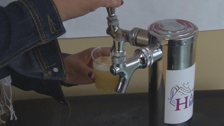 Half Pints Brewery beer
