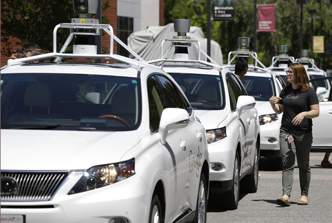 Google has said it is set to release a self-driving car in 2017.