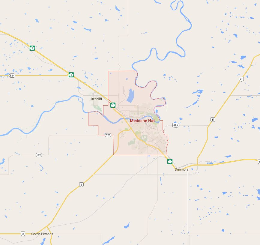 Investigators are looking at a breach of a TransCanada sweet natural gas pipeline in north of Medicine Hat.