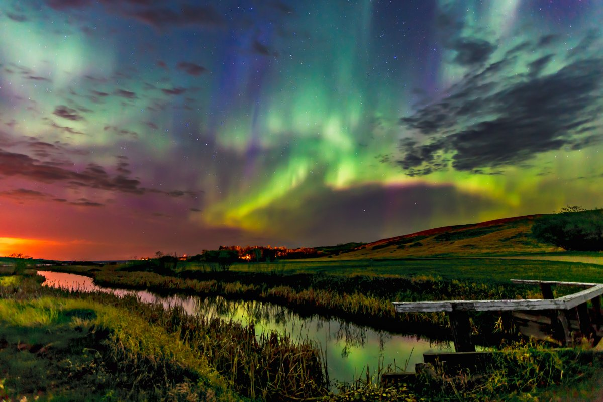 Saskatchewan is one of the best places to view the Northern Lights.