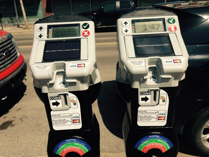 The city has installed 55 new digital credit-card capable parking meters along 11th Avenue between Albert St. and Broad St.