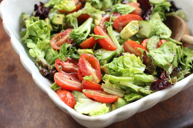 Mastering the fine art of a deceptively simple tossed salad