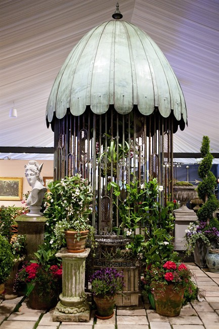 Garden antiques can add depth flair to any garden