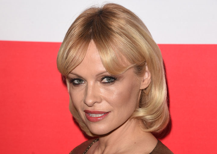 Pamela Anderson, pictured in March 2015.