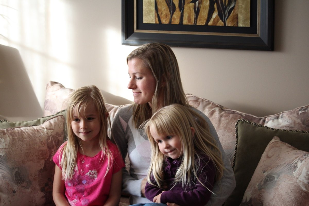 Calgarian Andrea Rohachuk, pictured with her two daughters, was among more than 100 Albertans sickened by tainted pork in a 2012 e.Coli outbreak.