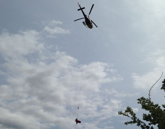 Penticton Search and Rescue retrieve hiker from Skaha Bluffs - image