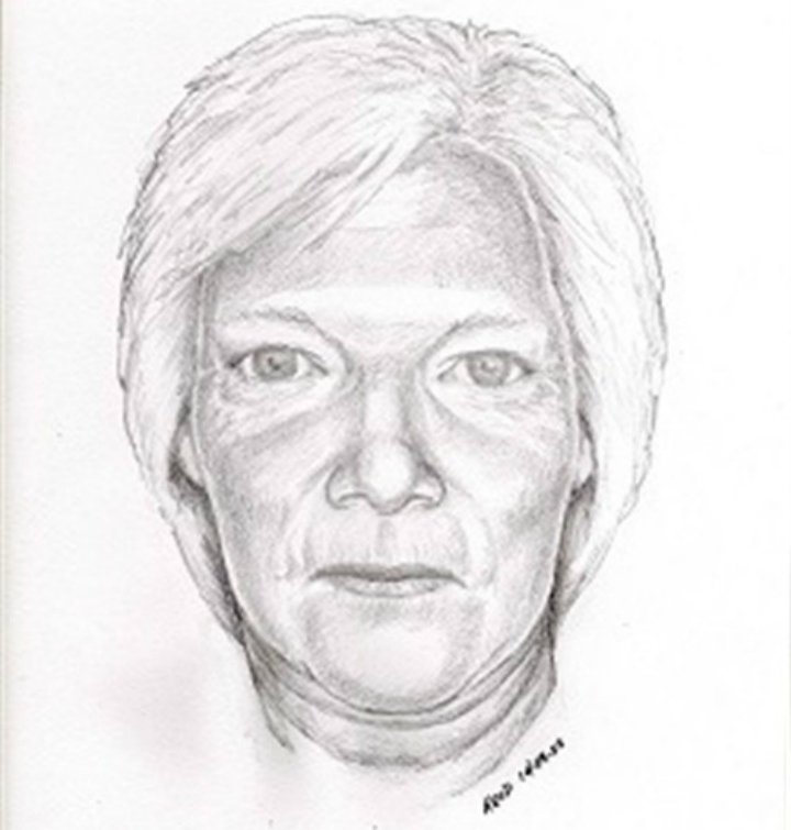 Kamloops RCMP have released an age progression sketch of Edna Bette-Jean Masters, who disappeared from the Red Lake area north of the city in July 1960, when she was 21-months-old.
