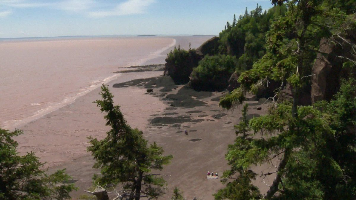 FILE - The Bay of Fundy in New Brunswick.