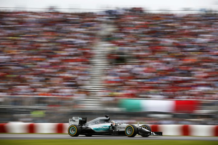 Lewis Hamilton, Mercedes F1 W06 Hybrid. Canadian Formula One 1 Grand Prix, Circuit Gilles Villeneuve, Montreal, Canada - 07 Jun 2015.