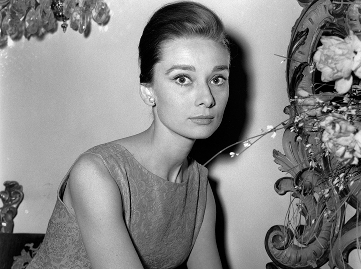 """This Jan. 8, 1960 file photo shows actress Audrey Hepburn at a hotel in Rome. """"Yes, she was an international star, but she was Mrs. Dotti to me,"""" says Luca Dotti, a Rome-based graphic designer who is the son of Hepburn and her second husband, Andrea Dotti."""