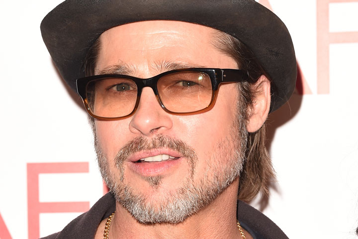 Brad Pitt, pictured in January 2015.
