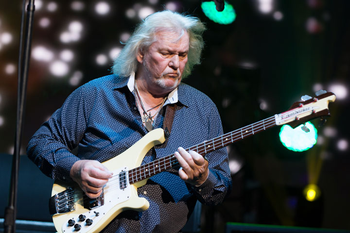Chris Squire, pictured in July 2014.