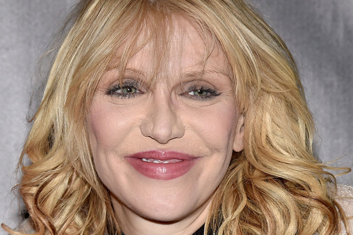 Courtney Love, pictured on June 18, 2015.