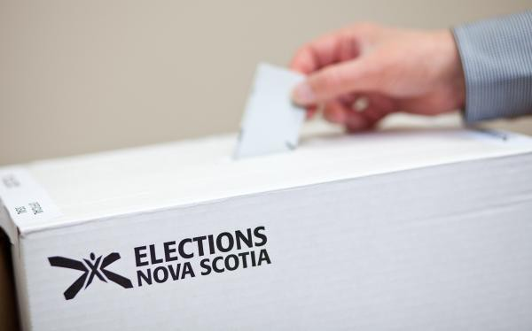 A ballot box is pictured on the Elections Nova Scotia website.