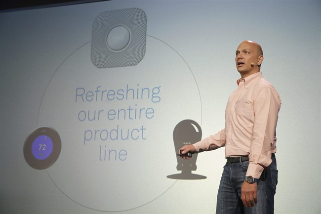 Google's Nest Labs is releasing new versions of its surveillance-video camera and talking smoke detector as part of its attempt to turn homes into yet another thing that can be controlled and tracked over the Internet.