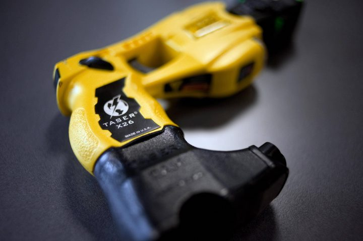 Police say a Taser proved ineffective against an alleged shoplifter during his arrest and again when he was in custody at a Saskatoon hospital.