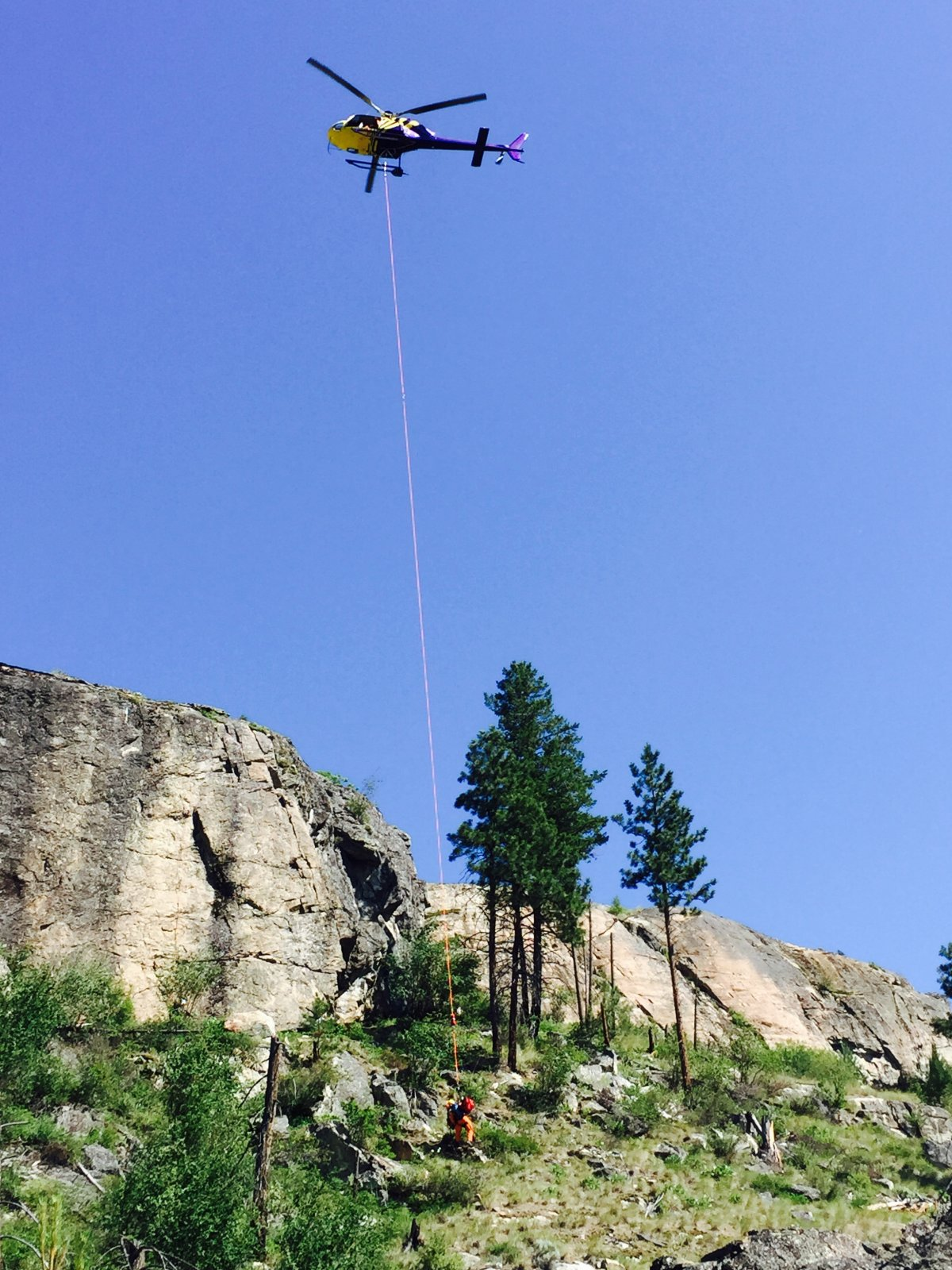 Man seriously injured after fall in Skaha Bluffs Provincial Park - image