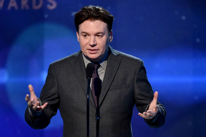 Mike Myers, pictured .