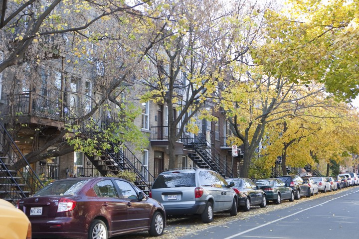 The Mile End neighbourhood of the Plateau-Mont-Royal.