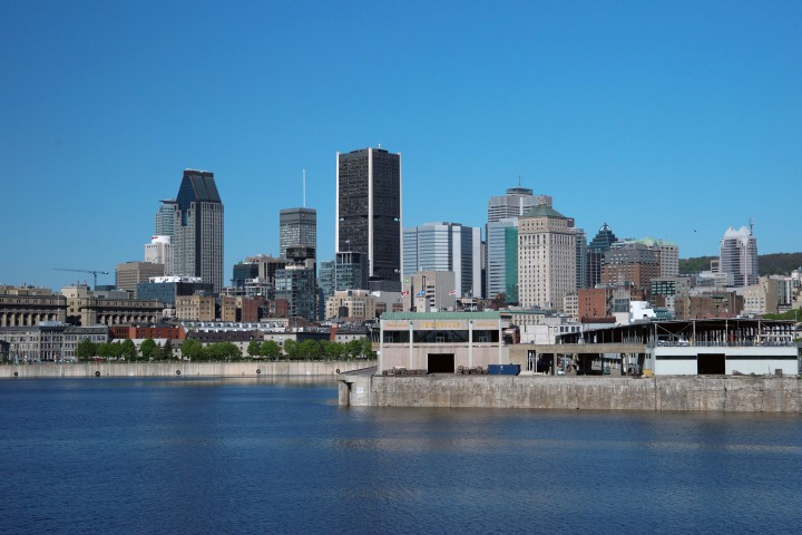A view of Montreal's skyline.