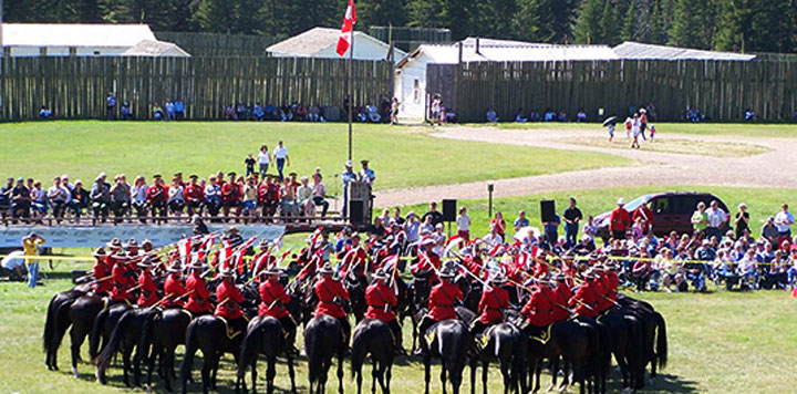 RCMP Musical Ride returns to roots at Fort Walsh Historic Site in Saskatchewan.