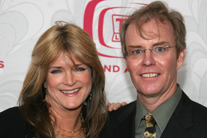 Susan Olsen and Mike Lookinland, pictured in 2007.