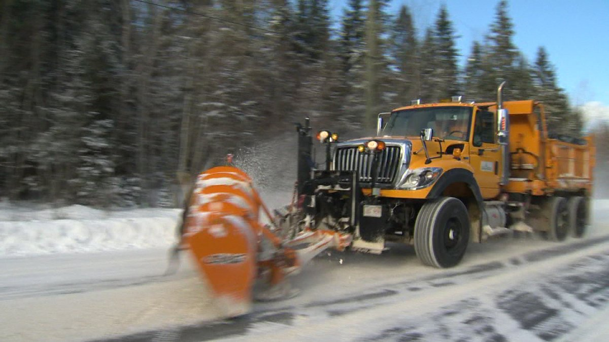 Ontarians will now be able to track snowplows.