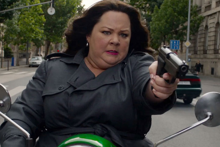 Melissa McCarthy, pictured in a scene from 'Spy.'.