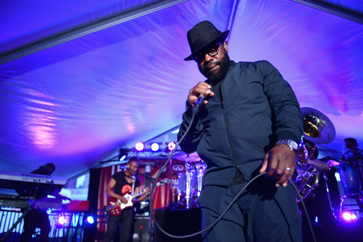 Musician Black Thought of The Roots performs onstage at the Infiniti presents The (RED) Supper to launch EAT (RED) DRINK (RED) SAVE LIVES on May 31, 2015 in New York City.
