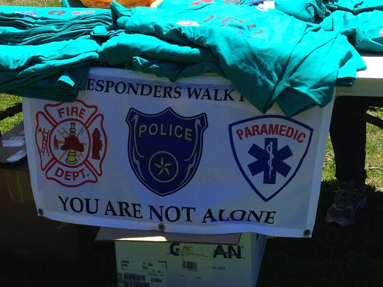 Organizers hope the walk becomes an annual event.