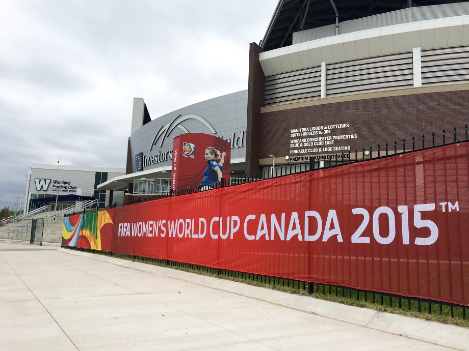 IGF was home to the FIFA Women's World Cup in 2015. Soon, it will be home to a Winnipeg professional soccer team.
