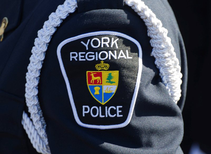 A file photo of a York Regional Police patch.