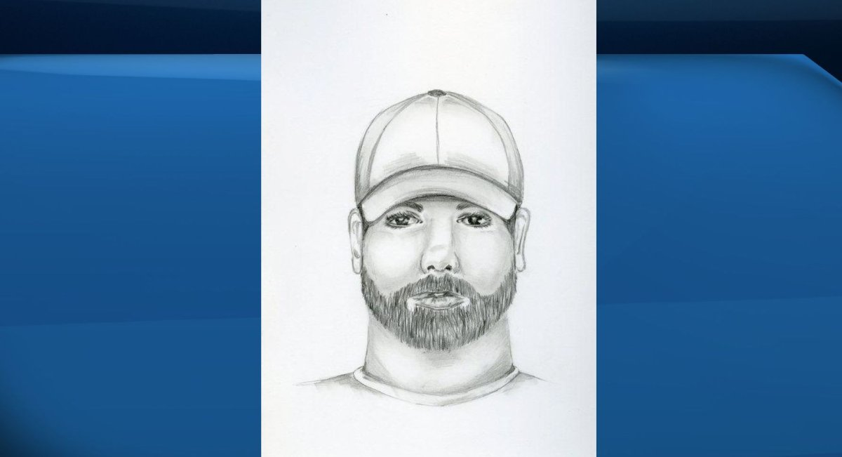 Police release a composite sketch of the suspect in a random sexual assault in Edmonton.