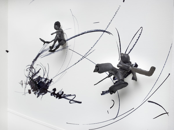 Figures in Motion, created by St. Albert-based artist Al Henderson.